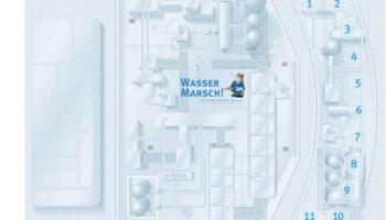 Wasser-Marsch-Spielbrett-Planspiel-Projektmanagement